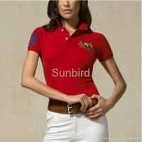 Quality wholesale polo ralph lauren t-shirts for woman AAA Grade 100% cotton for sale