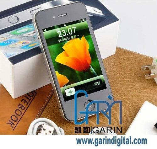 China A3 Android 2.1 Multi Touch Capacitive Panel 3G WiFi TV Java AppleUI Smart Phone