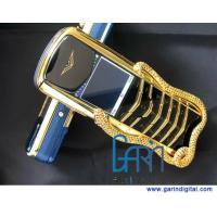 Quality Limited edition Signature Cobra gold luxury mobile phone, golden snake, gold for sale