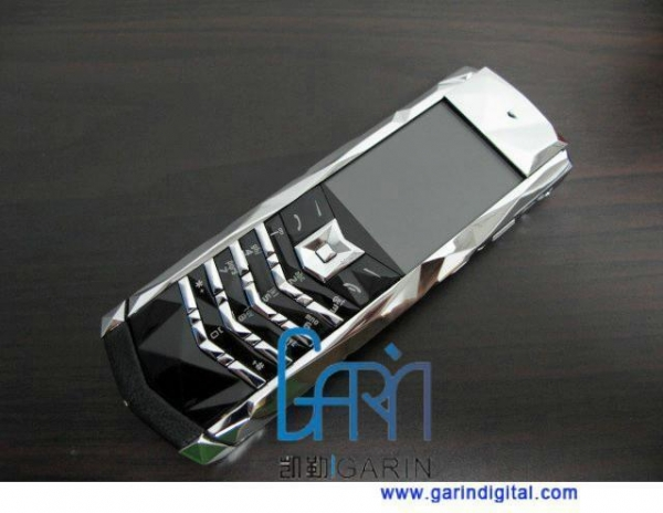 China Luxury Mobible Boucheron 150 Silver Signature S Design GSM Mobile Phone