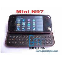 Quality MINI N97 1:1 Quad band 3.0 inch Touch Screen QWERTY Keyboard Mobile Phone for sale