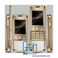 Quality 8800 Gold Arte with White Leather Cover GSM Quad band mobile phone for sale