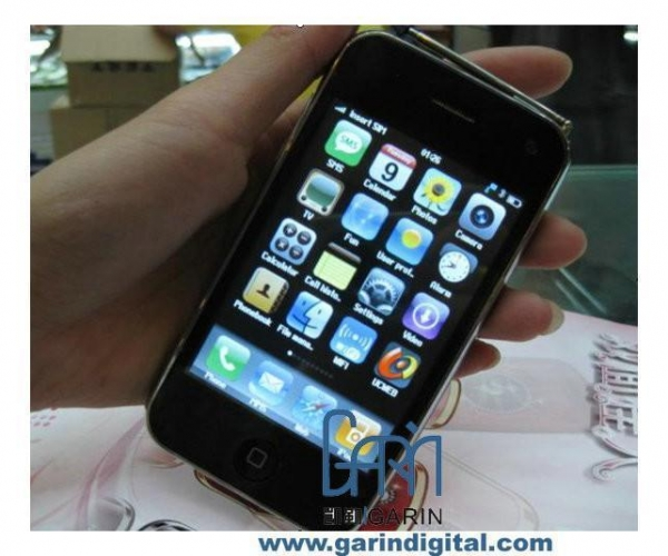 China iPhone3GS 32GB X9 3.5 INCH Quad band WIFI TV MSN Internal Mobile Phone
