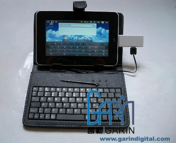 China Protective Leather Case Smooth Keyboard Touch Pen for 7 inch 8inch 10.1inch APad