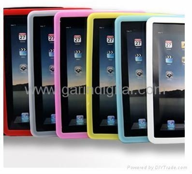China New Silicon skin case cover for Apple iPad Accessory