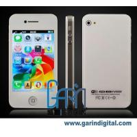 Quality iPhone H6 Dual SIM Dual Standby iPhone 4 MSN WIFI TV JAVA Quad-band Mobile Phone for sale