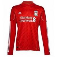 Liverpool 10-11 home ls soccer jersey