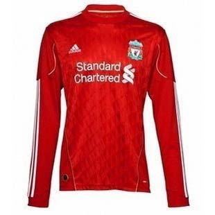 Buy Liverpool 10-11 home ls soccer jersey at wholesale prices