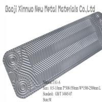 Quality titanium sheet for heat exchanger for sale