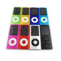 China 2GB 1.8TFT LCD Slim 4th MP3/MP4 Player 8 colors on sale