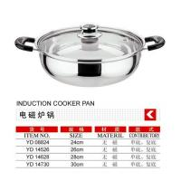 Induction cooker pan
