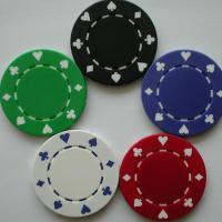 Buy cheap Plastic Items poker chips product