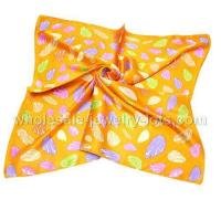 China Wholesale Square Silk Scarves For Women Korea on sale