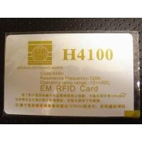 Contactless ID cards H4100