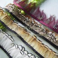 Quality Rabbit hai Feather lace for sale