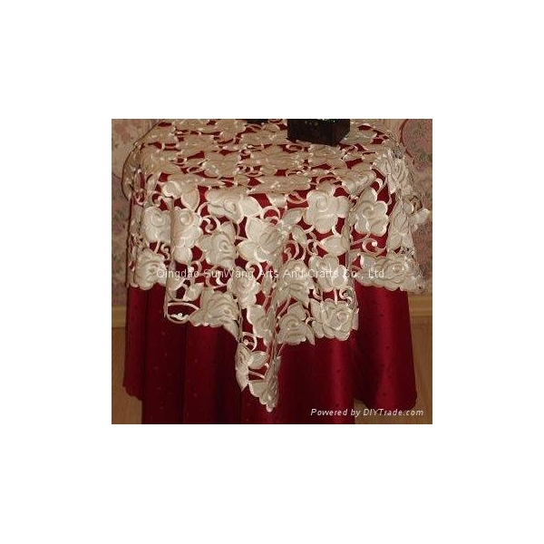 box coveretc. Such as Battenlace tablecloth, crochet tablecloth