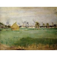 Quality Impressionist(3830) Landscape_at_Gennevilliers for sale