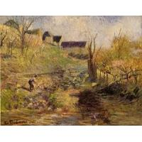 Quality Impressionist(3830) Landscape_at_Osny for sale