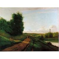 Quality Impressionist(3830) The_Banks_of_the_Marne for sale