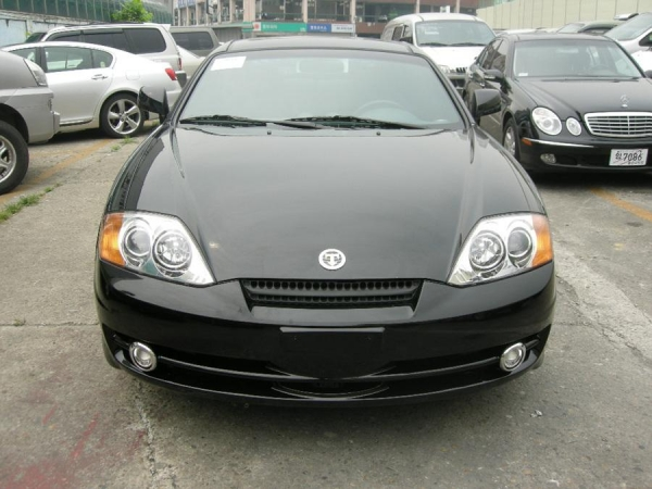 HYUNDAI TUSCANI 2003YEAR GT A/T BLACK #095428 for sale from ...