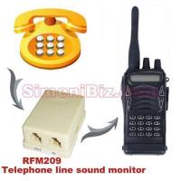Buy cheap 2 in 1 covert telephone line sound monitor and room monitor product