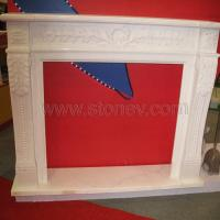 Stone Fireplace White Marble Firepalce Photo Gallery