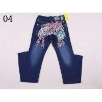China Sell high quality Christian Audigier jeans on sale