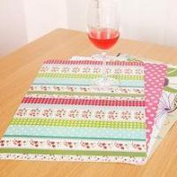 Factory price cheap holiday promotion gift christmas paper placemats