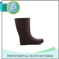 Famouse Brand Customised designs 100% Natural Rubber rain boots men