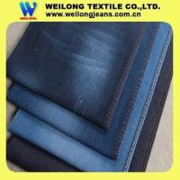 Buy cheap B3257-B cotton poly spandex denim jeans fabric made in china factory from wholesalers