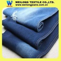 Buy cheap B3017 china factory wholesale 100 cotton denim jeans fabric less than 2 dollars from wholesalers