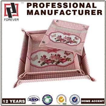 Buy New Box leather trays for serving , wholesale pet food tray pu at wholesale prices