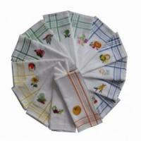 Buy cheap 100% cotton embroidered tea towel product
