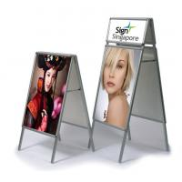 Buy cheap Classical Double Sides Poster Stand product