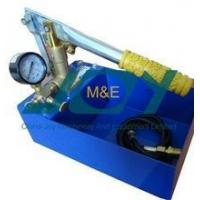 Quality Hand pressure testing pump/Hand operating hydraulic test pump for sale