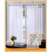 High quality woven curtain voile fabric for French market small order quantity