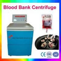China Low speed refrigerated centrifuge for Blood bag shaker on sale