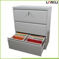 Office lateral metal 3 drawer fireproof filing cabinets storage file cabinets