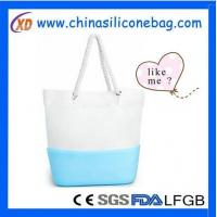 Quality Silicone Bag silicone and canvas bag for sale