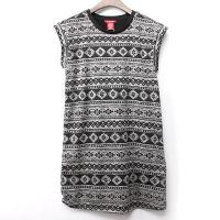China Sleeveless Scoop Neck Sweater Knit Dress on sale