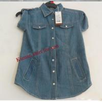 Buy cheap Women casual short sleeve denim shirts from wholesalers