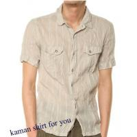 Buy cheap Mens short sleeve linen shirs from wholesalers