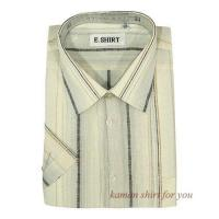 Buy cheap Mens Linen Short Sleeve Shirts from wholesalers