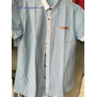 Buy cheap KM-579 Mens designer short sleeve shirts man fashion casual shirts from wholesalers