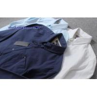 Buy cheap KM-569 Mens button down collar dress casual shirts man cotton shirts from wholesalers
