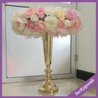China decorative table top decoration artificial colorful flower centerpiece for sale on sale