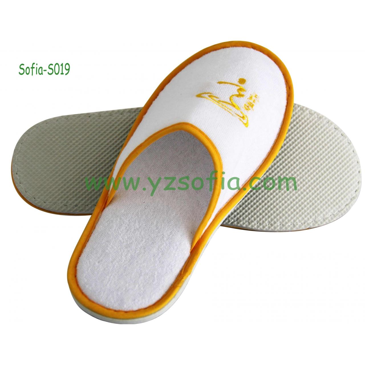 Quality Sofia-S0019,High Quality Hotel Slipper/Airline Disposable Slipper for sale
