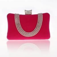 Buy cheap 2014 hot pink women's bag dimond decoration corduroy cheap bag from wholesalers