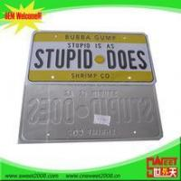 Quality Car Decoration alibaba china wholesale american car license plates for sale