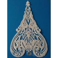 Quality eco-friendly feature and lace product type lace applique embroidery for sale